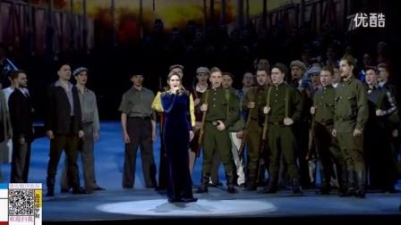 俄罗斯歌曲 向斯拉夫女人告别 2016年5月8日庆祝胜利日克里姆林宫节日演唱会_高清