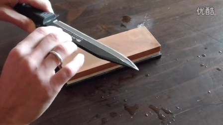 How To Sharpen a Knife on a Sharpening Stone (Whetstone) to a Razor Edge!