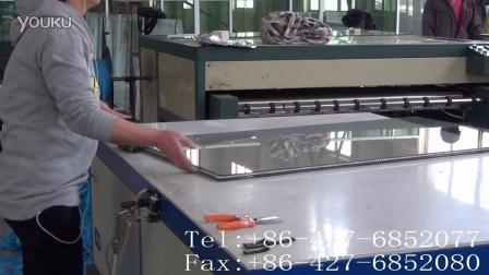 CLL槽铝式中空玻璃胶条--码条操作