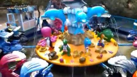 壹号游乐:鲨鱼岛  户外儿童游乐设备  主题乐园游乐设备
