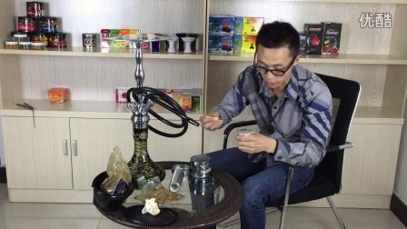 树的烟具视频148-纯铜壶抽阿格丽妮Argelini apple 苹果味+haze 薄荷味 清凉香甜