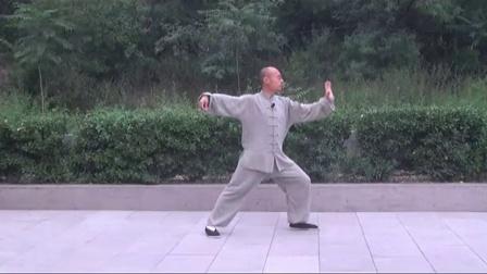 正宗杨氏太极拳85式教学(精讲10)  永年李占英 2012年新版_高清