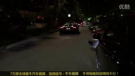 汽车拍客的天堂!摩纳哥街拍集锦918布加迪 ZENVO