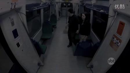【国外整人节目】【地铁惊魂】巴西恐怖整人節目