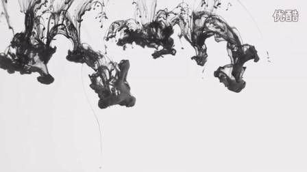 中国风朗诵茶艺视频制作古风水墨卷轴墨迹