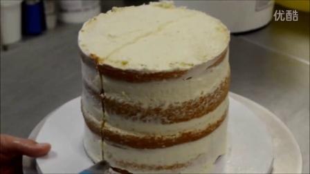 生日蛋糕上奶油制作步骤