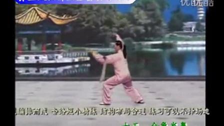 吴阿敏36式养生太极拂尘(张群口令)