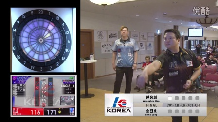 【DARTSLIVE.TV】KOREA 2016 STAGE 2-FINAL MATCH-