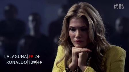 德州扑克--罗纳尔多PK世界小姐