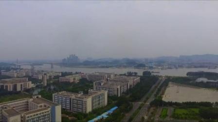 航拍:美好广州。大学城