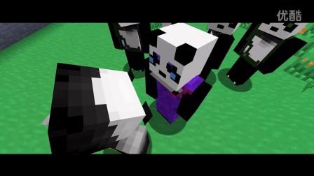 《我的世界MC 》模仿功夫熊猫3 -