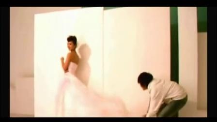 万人迷陈好和胡兵欧巴的婚纱照拍摄秀,配一脸夫妻相啊