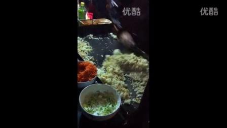 河南省安阳市铁板炒饭的做法培训