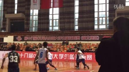 武汉华夏理工学院篮球队2015年CUBA精彩瞬间