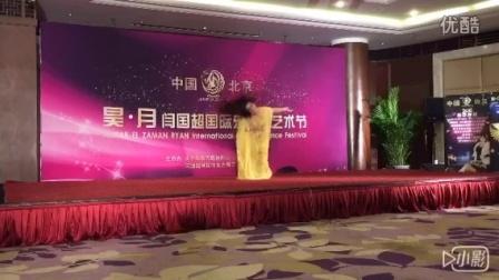 北京时川老师肚皮舞节比赛亚军作品波斯湾甩发.MOV