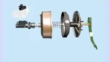 大众车系\ABS系统\结构总成\制动力输入总成