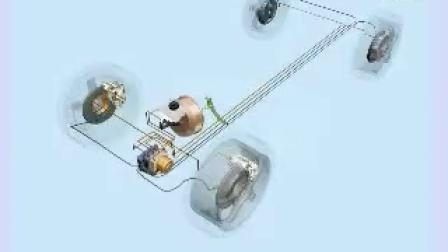 大众车系\ABS系统\结构总成\总体结构ABS
