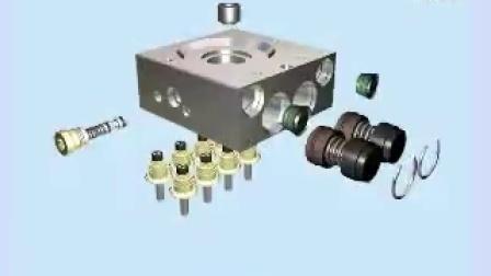 大众车系\ABS系统\结构总成\液压单元