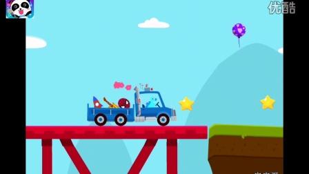 恐龙迪诺和他的汽车们:小恐龙驾驶卡车通过前往雪糕店甜品店★侏罗纪世界恐龙时代 宝宝巴士游戏大全恐龙乐园 4399亲子互动小游戏 7k7k小游戏