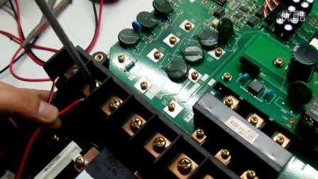 三菱F500故障实例_ 注塑机电路板维修培训  集成电路板维修培训