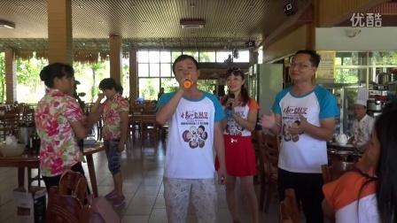 万宁市东和农场中学95届(3)班21周年同学聚会