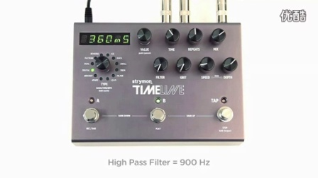 Strymon TimeLine - Digital Delay Machine 数字