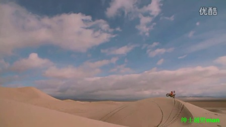A Freeride Motocross Paradise in the Dunes of Death Valley