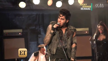 Rocky Horror BTS Adam Lambert  9.28.2016 HD