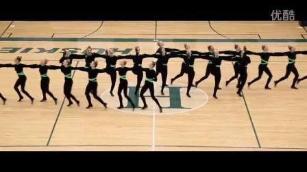 无法阻挡的美Hillcrest Drill (Region 2013)啦啦操舞蹈