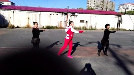 VID_20160928_14513:鸡西市电厂公园舞队激情健美活力操,小苹果