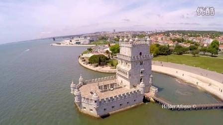 航拍 葡萄牙 里斯本市 迷人风光