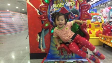小萝莉之儿童乐园玩摇摇车