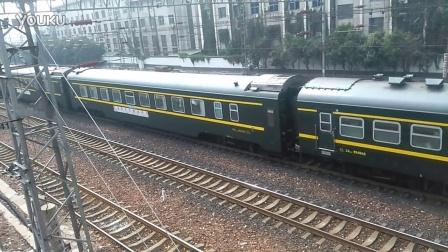 Z54昆明北京西郑州发车