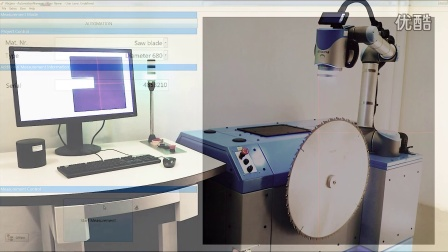 Aliconas collaborative robot system for turbine disks