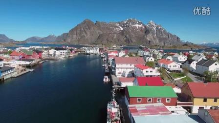 航拍 挪威罗弗敦群岛 壮观风景