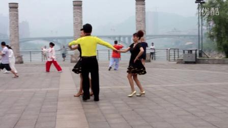 冷水江市布溪舞蹈培训 伦巴一拖二(王、李、郭)