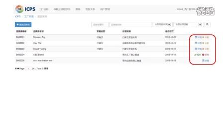 ICPS责任采购平台视频指引 – 工厂用户版