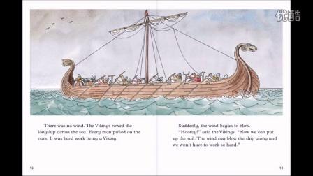 Children's story book - Viking Adventure(1)