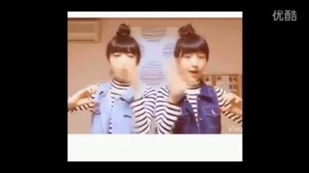 【幽默学】双胞胎姐妹演绎最新神曲PPAP,这画风好可爱!