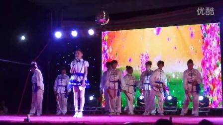 深辉村舞蹈队《男儿当自强》《精忠报国》