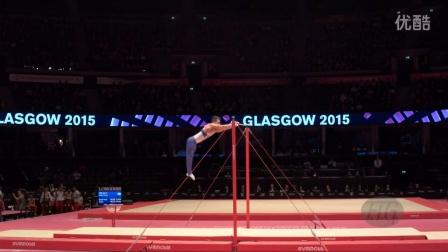 【2015世锦赛】男子体操 资格赛 单杠 David Belyavskiy