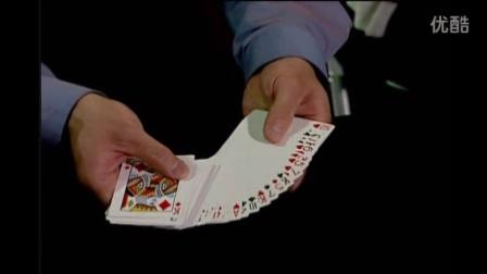 【扑克牌魔术教学】老K的毯子