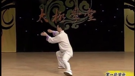 自学太极拳视频  李德印42式太极拳分解教学  太极拳教学视频