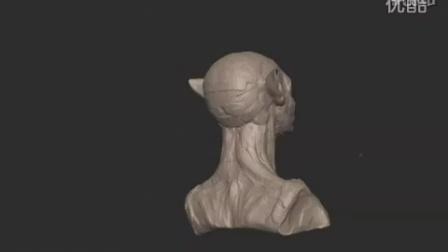 [视频3]ZBRUSH 精彩雕刻 阿凡达  avatar