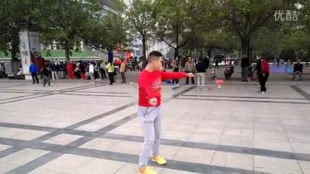 """中国洛阳""""牡丹杯""""全国空竹名人邀请赛刘炳坊 场外教学"""