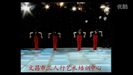海南省文昌市三人行艺术培训中心《小蝌蚪变青蛙 》中国民族民间舞考级2级