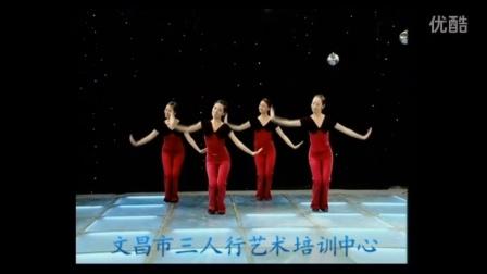 海南省文昌市三人行艺术培训中心中国民族民间舞考级2级《燕儿飞 》