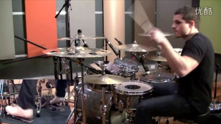 金属鼓 Meshuggah - ObZen Album Medley Drum Cover by Troy Wright