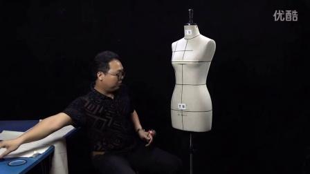 四面基型结构立体裁剪 服装裁剪设计-1