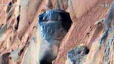 远古外星人在火星上古老的岩石雕刻和廊柱拍摄的照片 NASA好奇心 UFO观察_高清